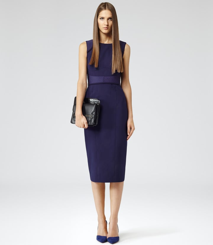 Reiss Theodora midi dress (£245) | What to Wear to a Winter ...