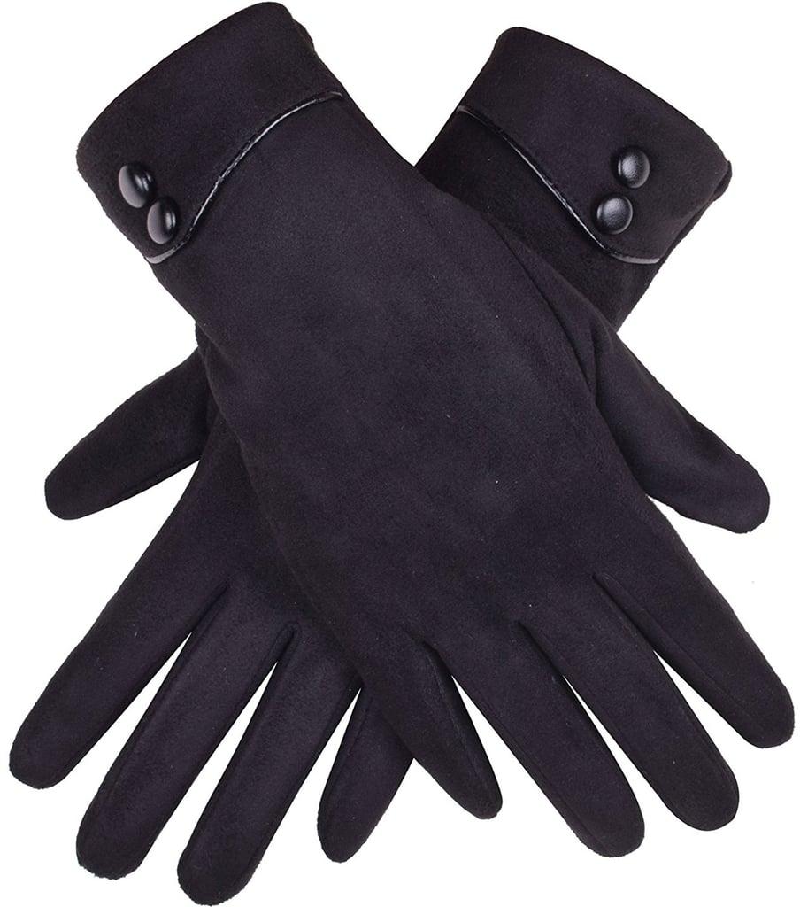 Gloue Button Gloves