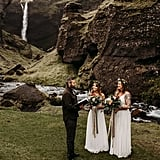 Rainy Elopement in Iceland