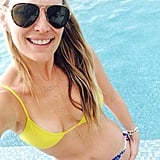 Molly Sims shared this bikini-clad snap while on vacation in the Bahamas. Source: Molly Sims on WhoSay