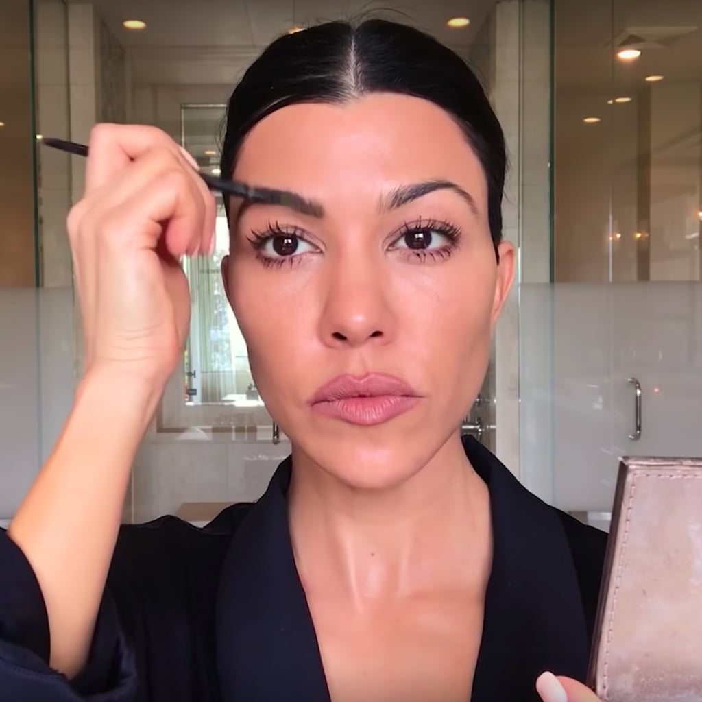 Kourtney Kardashian Makeup Video For Vogue 2019