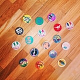 One of the best parts of going home is finding all your old Pogs.