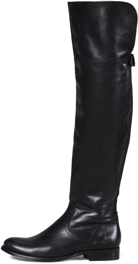 Frye Over-the-Knee Boot in Black ($498)