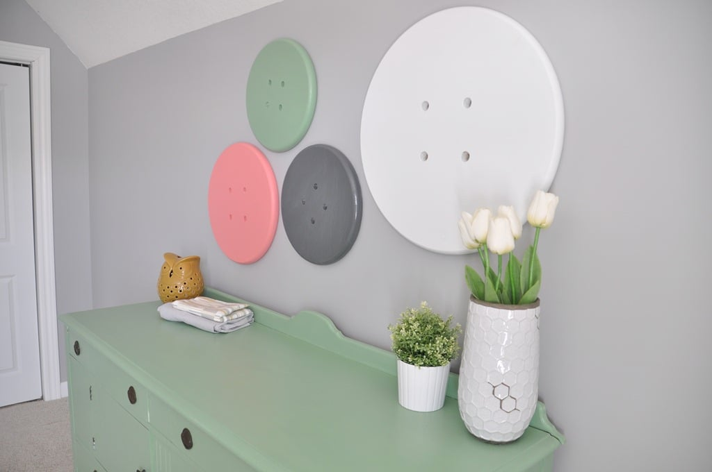DIY Nursery Crafts POPSUGAR Moms