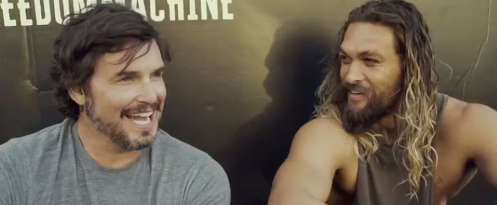 Jason Momoa Gets a New Motorcycle and Immediately Spray-Paints It Black, Because of Course