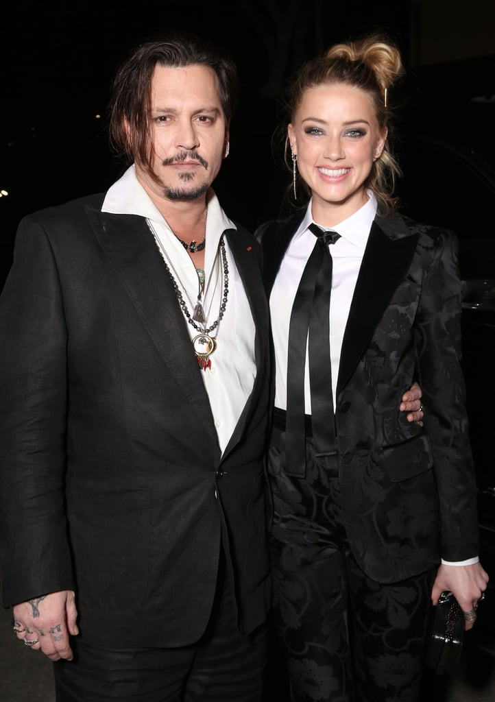 """Amber Heard had the support of her handsome husband, Johnny Depp, at the LA premiere of her new film, The Danish Girl, on Saturday. The couple, who tied the knot in February, had the look of love as they struck poses on the red carpet, holding hands and sneaking in a couple kisses. Amber stars in the movie alongside Alicia Vikander and Eddie Redmayne, who were also in attendance.  Johnny recently made headlines when he opened up about his """"supertight"""" relationship with his 16-year-old daughter, Lily-Rose, and her brave decision to reveal that she identifies as sexually fluid, last week. Johnny told the Daily Mail that although Lily's followers on social media """"were all taken completely by surprise,"""" he """"already knew because she tells me everything."""" Read on to see photos of Johnny and Amber's night out, and then see their hottest photos over the years."""