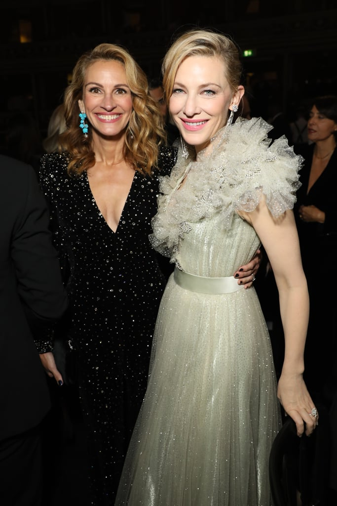 Julia Roberts and Cate Blanchett at the British Fashion Awards 2019 in London