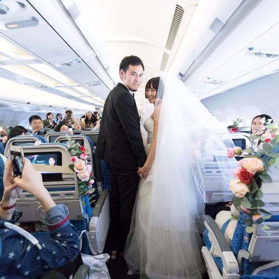 Couple Marry on Cathay Dragon Shanghai – Hong Kong Flight