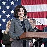 Veep Five nominations total:  Outstanding comedy series Outstanding lead actress in a comedy series, Julia Louis-Dreyfus Outstanding supporting actor in a comedy series, Tony Hale Outstanding supporting actress in a comedy series, Anna Chlumsky Outstanding casting for a comedy series