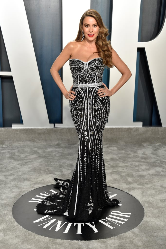Sofia Vergara at the Vanity Fair Oscars Afterparty 2020