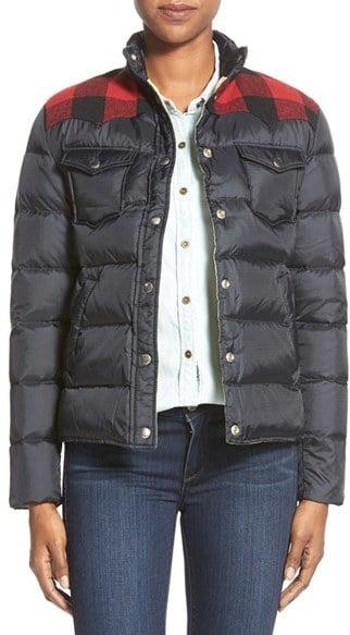 Penfield 'Rockford' Plaid Yoke Down Jacket ($235)