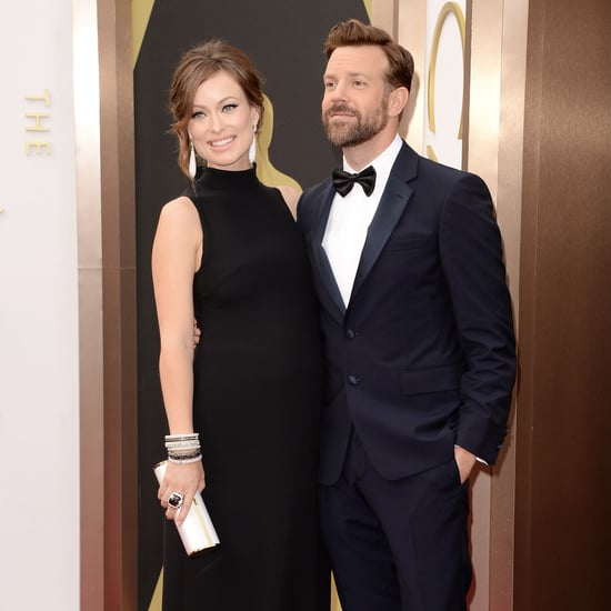 Jason Sudeikis and Olivia Wilde at the Oscars 2014