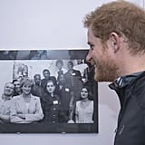 Prince Harry Re-Creates Photo of Princess Diana 2017