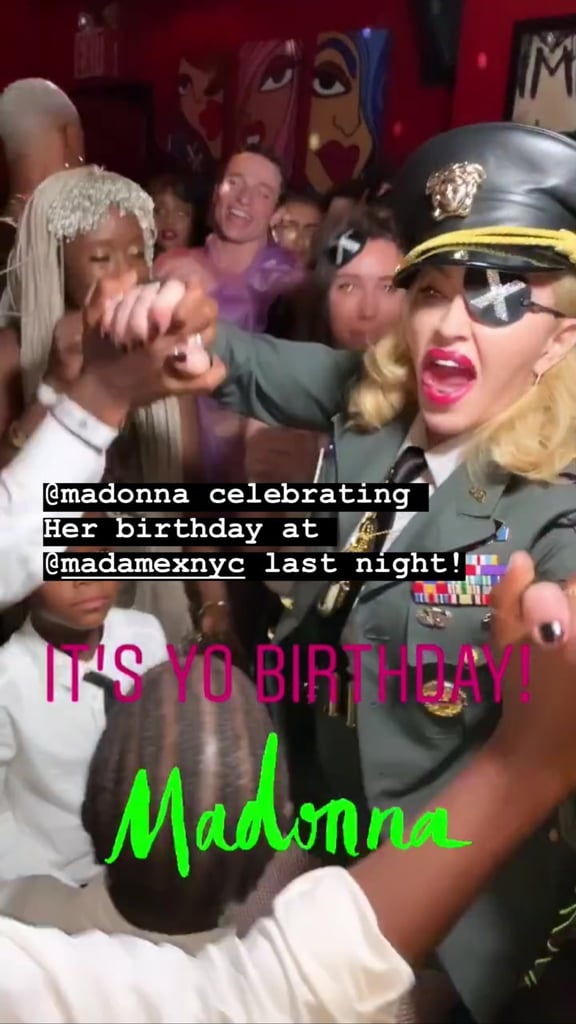 Madonna Gets Into the Groove as She Celebrates Her 61st Birthday With an Epic Party