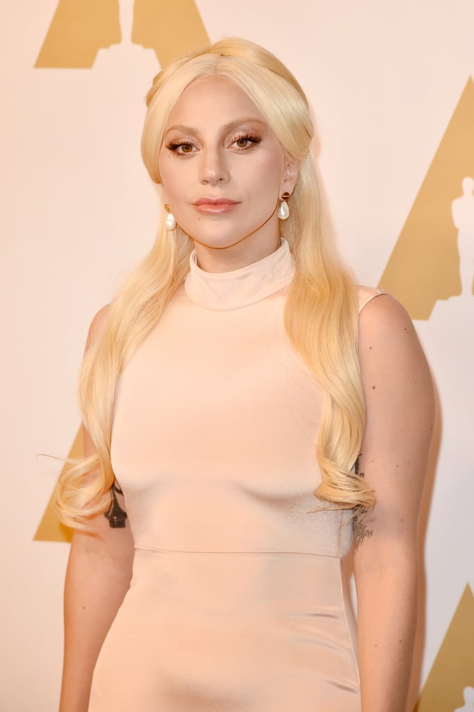 The Academy Awards are almost here, but first, stars are gearing up for the big day at the annual Oscars luncheon. On Monday, a collection of this year's hopefuls made their way to the Beverly Hilton hotel in LA to celebrate their nominations. Attendees included The Weeknd, Eddie Redmayne and his pregnant wife Hannah Bagshawe, Sylvester Stallone, and Lady Gaga, who wowed in a floor-length gown just a day after her shiver-inducing performance at Super Bowl 50.  Also on hand for the event was Brie Larson, who couldn't help but gush over her Room costar Jacob Tremblay, Rachel McAdams, who revealed what really happens after an award show, and the ever-handsome Leonardo DiCaprio, Matt Damon, and Sam Smith. Read on to see even more famous faces, and then check out everything you need to know about the 2016 Oscars.