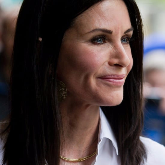 Courtney cox home popsugar home for Cox at home