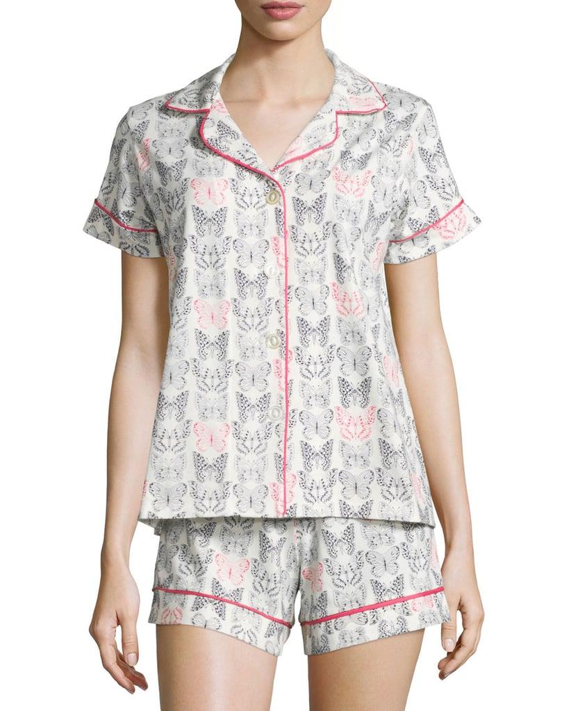 Butterfly-Print Shorty Pajama Set ($89, originally $130)
