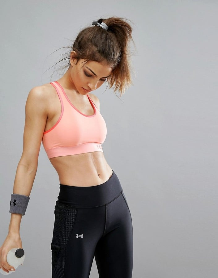 Under Armour Mid Support Armour Gym Bra
