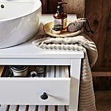 Hemnes/Tornviken Open Sink Cabinet