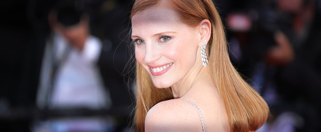 Jessica Chastain Natural Hair Color
