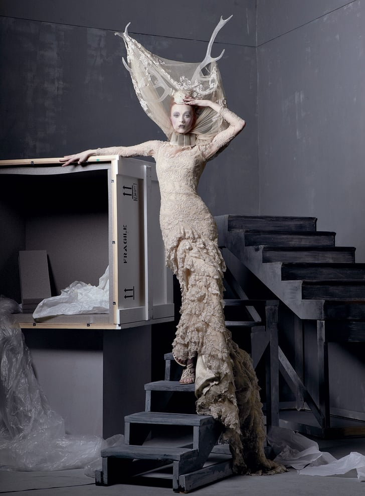 See the alexander mcqueen dress that was based on sarah for Sarah burton wedding dresses official website