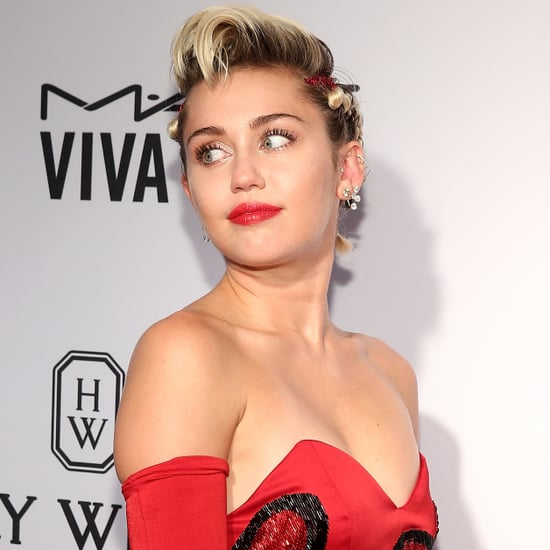 Miley Cyrus at the amfAR Inspiration Gala New 2015