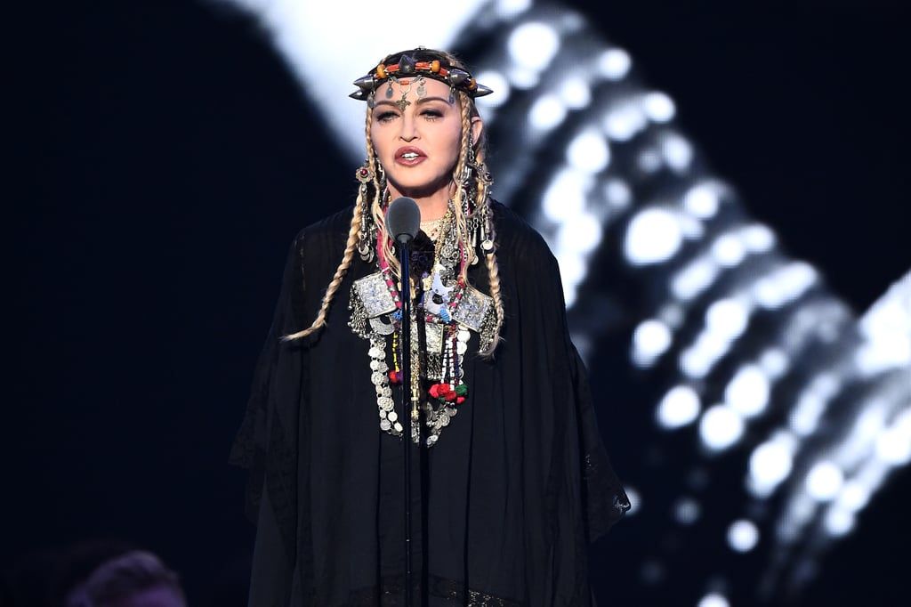 Pop Punk Inspired Bedroom: Madonna's Outfit At The 2018 MTV VMAs