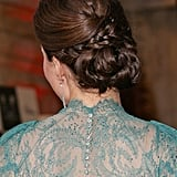 Polished in a Plaited Bun