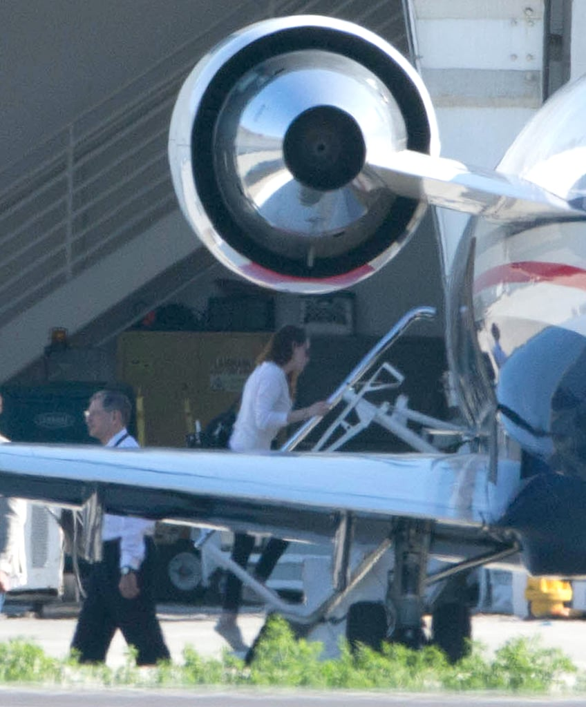 Kristen Stewart headed out of LA on a private jet yesterday afternoon. She's in the midst of a busy promotional season for her upcoming movie On the Road, which will be out in limited release on Dec. 21. The last week has seen Kristen and her costar Garrett Hedlund attending events for the picture in LA and even outside San Francisco, where they attended a special screening at Skywalker Ranch in Marin County. The next few days will be full of NYC interviews and press days. The PR blitz comes after another big year for Kristen —is she your favorite female celebrity of 2012?