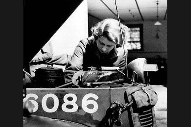She Worked as a Mechanic During World War II