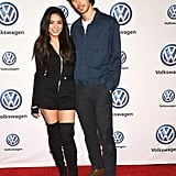 The pair kept it casual at the Volkswagen Drive-In Event in LA in November 2018.