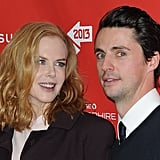 Nicole Kidman posed with costar Matthew Goode at the Stoker premiere during the 2013 Sundance Film Festival on Sunday.