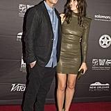 Justin Timberlake and Jessica Biel at Book of Love Premiere