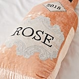 Urban Outfitters Oversize Rosé Bottle Pillow