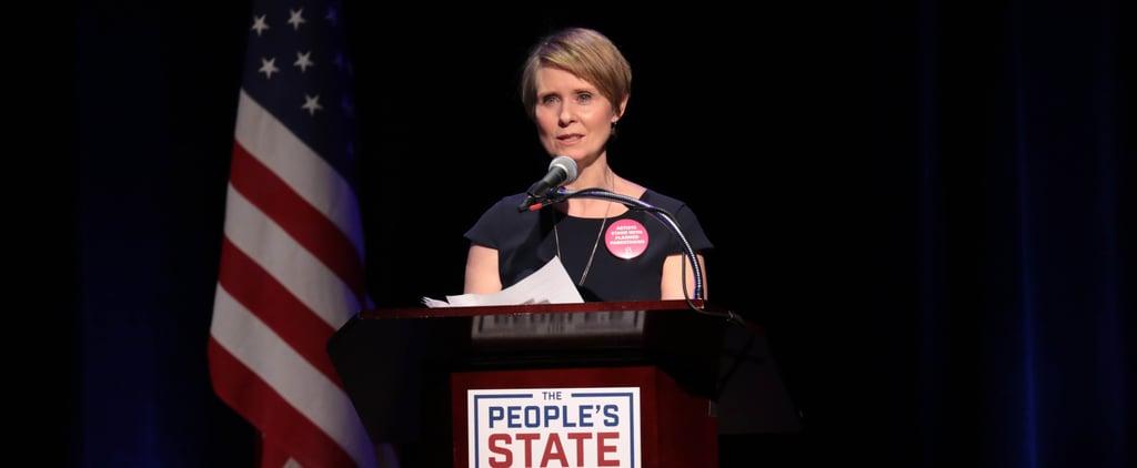 Cynthia Nixon Running For Governor of New York 2018