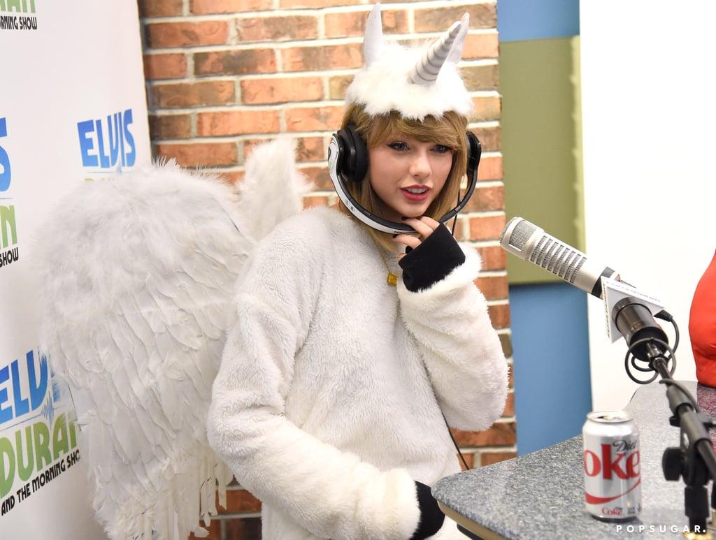 taylor swift's pegacorn halloween costume 2014 | photos | popsugar