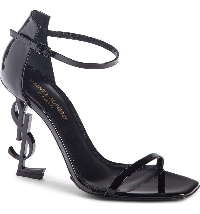 Saint Laurent Opyum YSL Ankle Strap Sandals