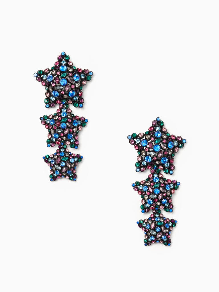 Bright Star Statement Earrings, Holiday 2016