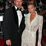 David and Victoria Beckham — 2008