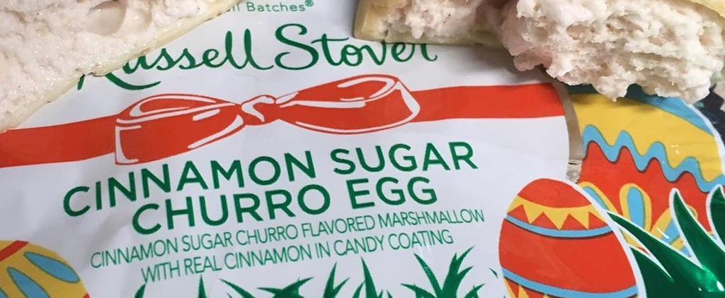 Russell Stover Cinnamon Sugar Churro Egg