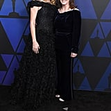Laura Dern and Kathleen Kennedy