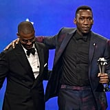Pictured: Chris Bowers and Mahershala Ali