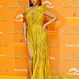 Beyoncé's Dress at The Lion King Premiere in London