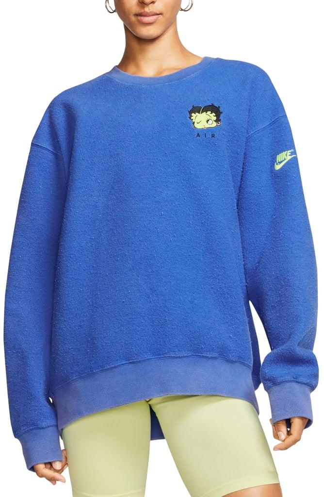 Nike x Olivia Kim NRG Fleece Crewneck Sweatshirt