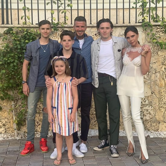 David and Victoria Beckham Family Pictures in Miami 2019