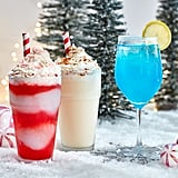 Frozen Candy Cane, Frozen Eggnog, and Jack Frost