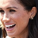 Meghan Markle Princess Diana Butterfly Earrings