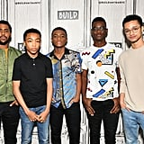 Asante Blackk and the Cast of When They See Us
