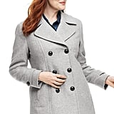 Lands End Wool Peacoat