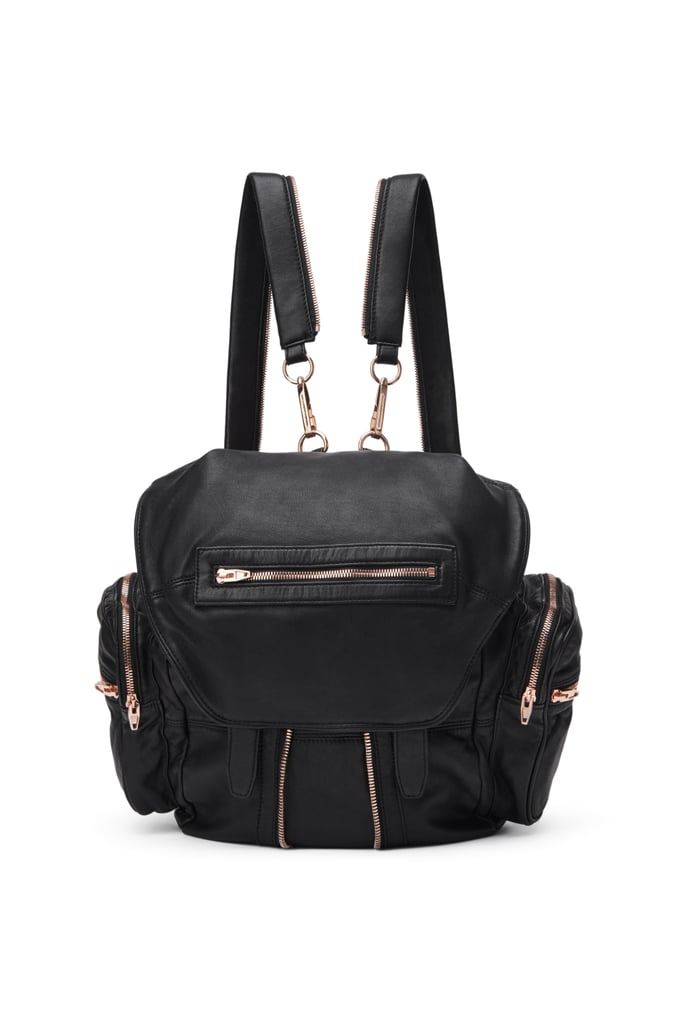 Alexander Wang Marti Backpack With Rose Gold
